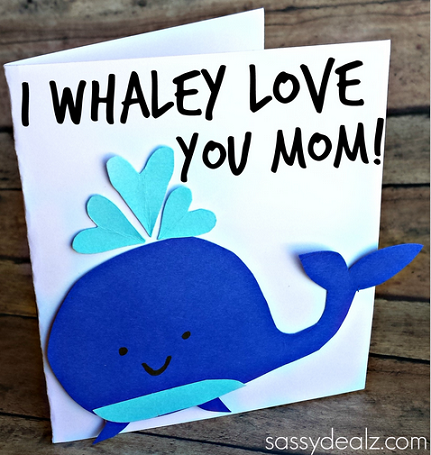 I whaley love you card