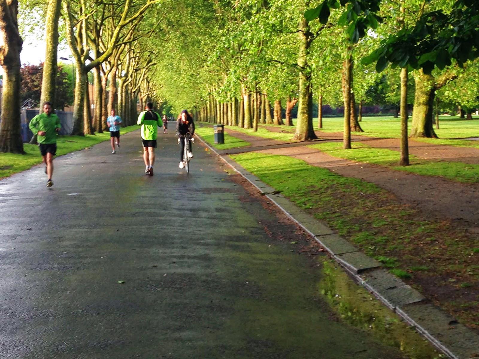 London park running