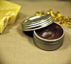 Luscious lavender lip balm