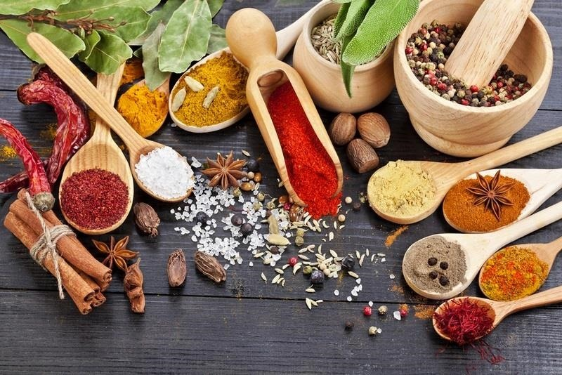 Meals with spices