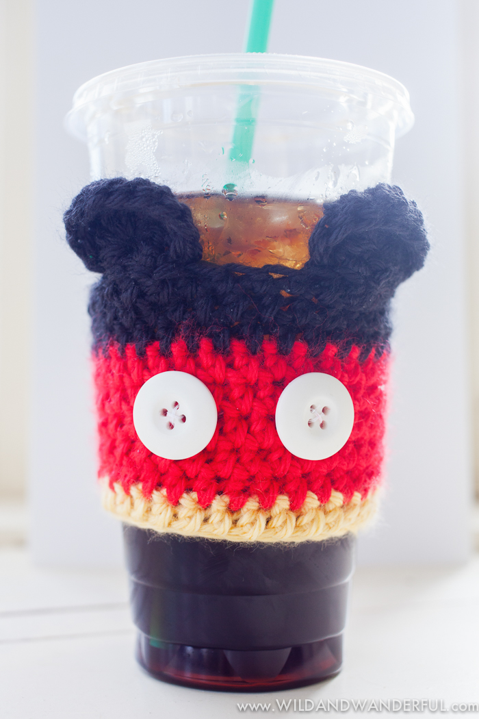 Mickey mouse cofee cozy