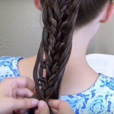 Princess hairstyle
