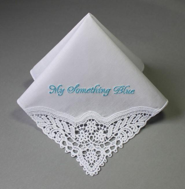 Something blue handkerchief