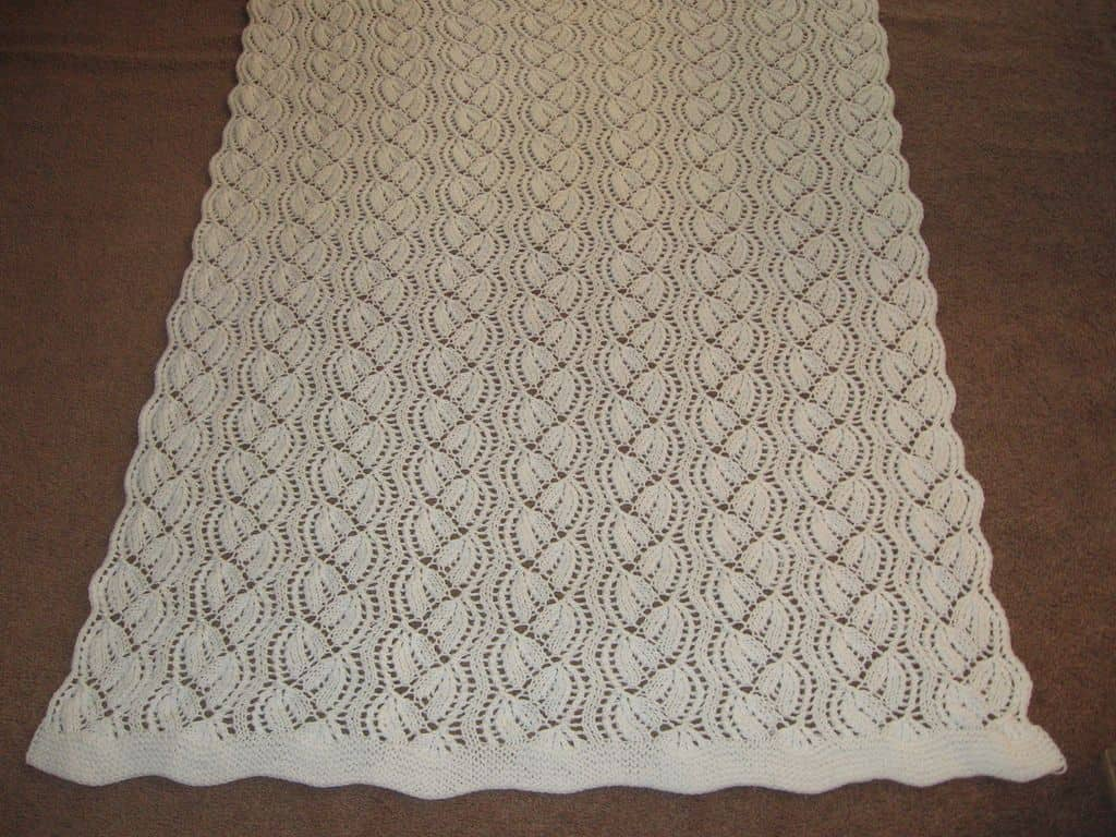 Wedding throw blanket