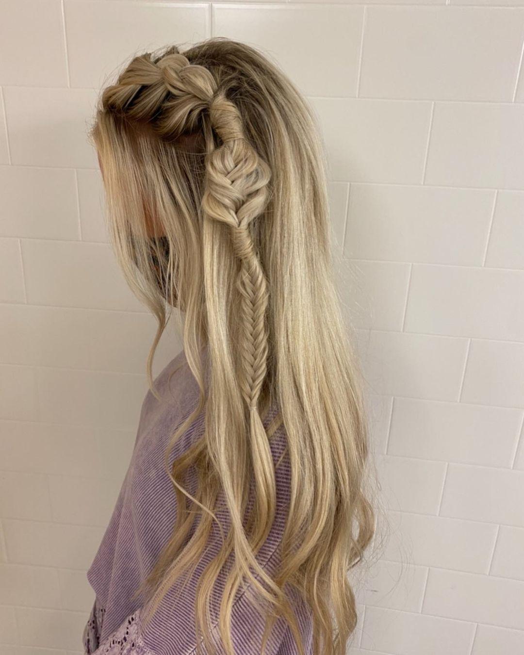Whimsical braid