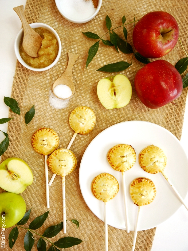 Apple pie pops sugar free recipe