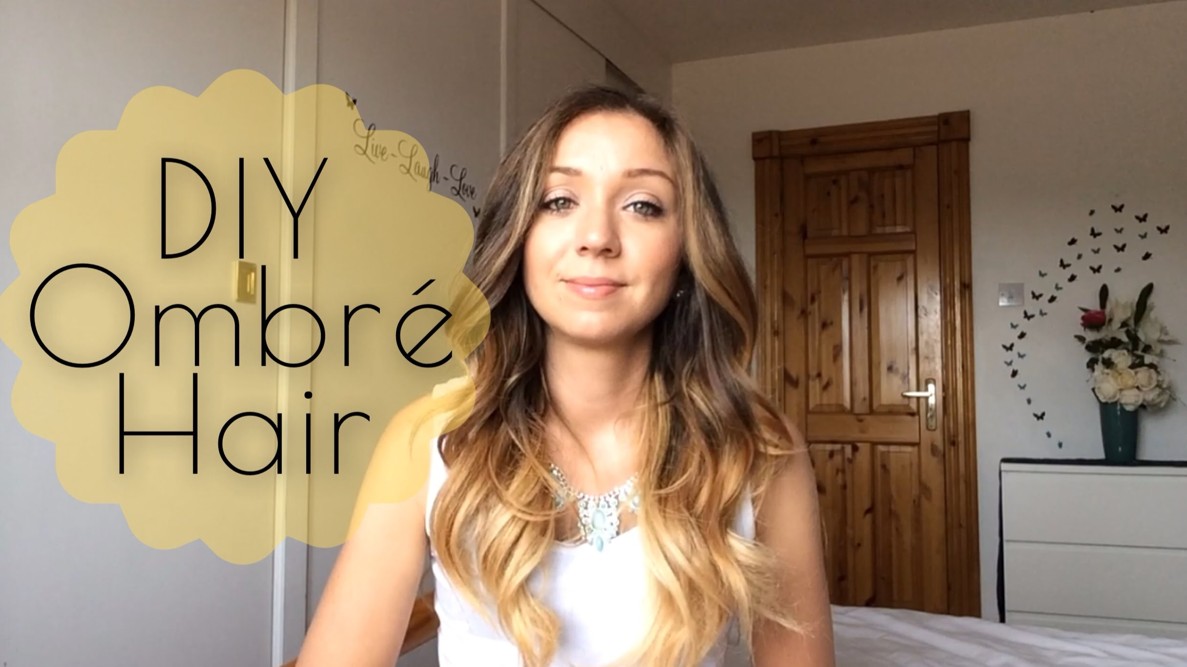 At home ombre hair diy