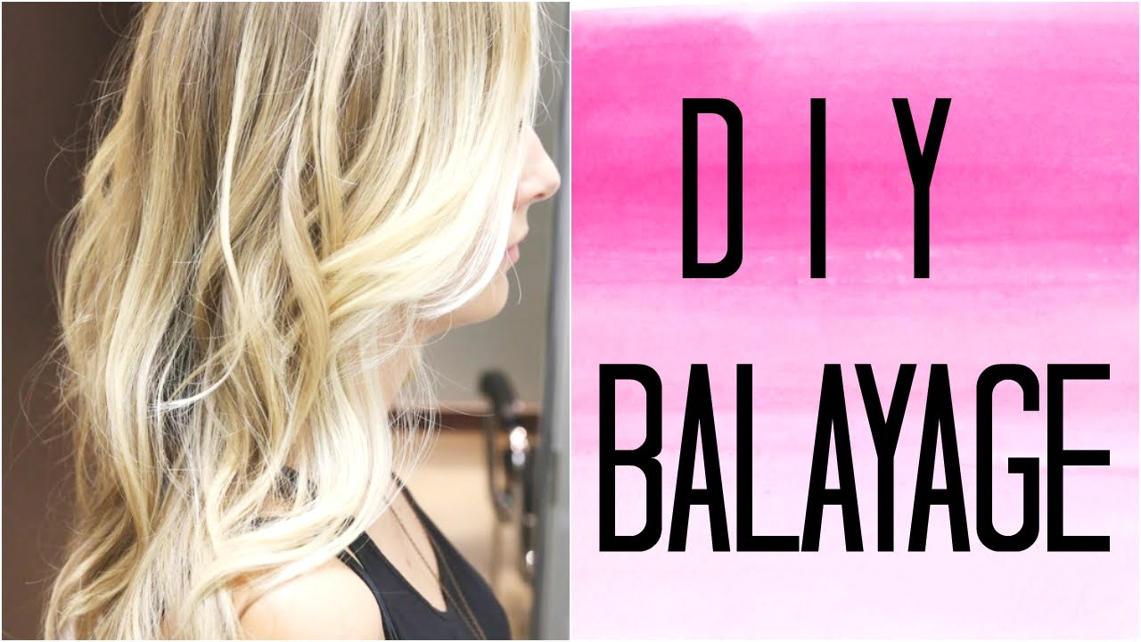 Blonde to balayage hair