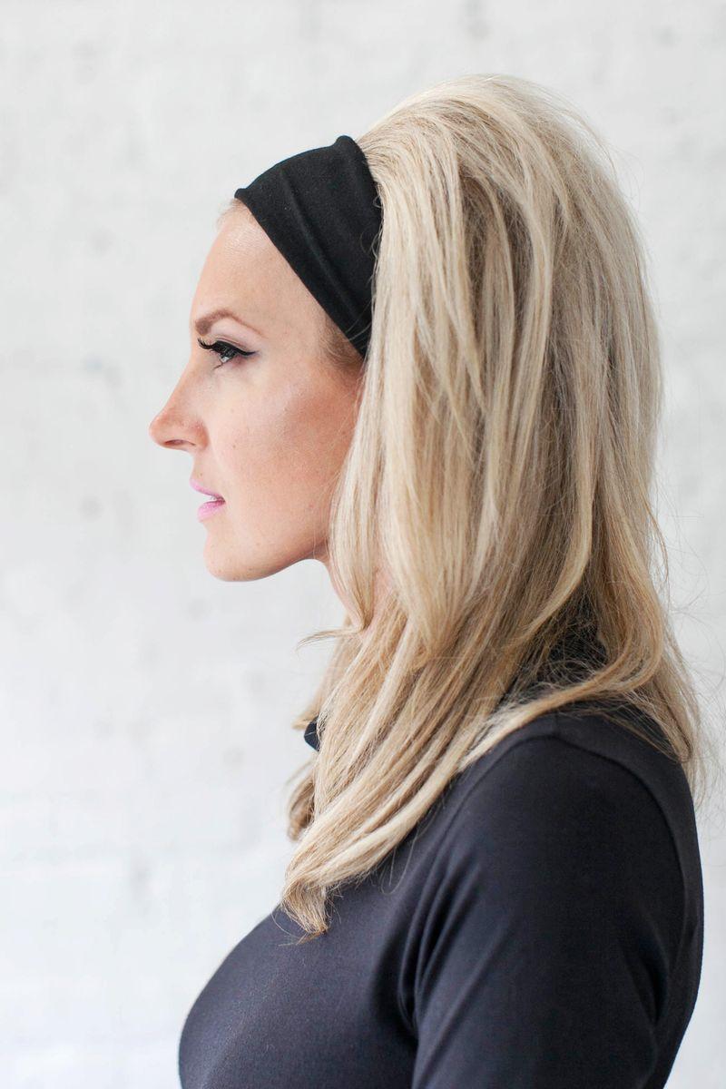 Brigitte hardot headband hair
