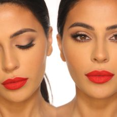 Classic red lip tutorial