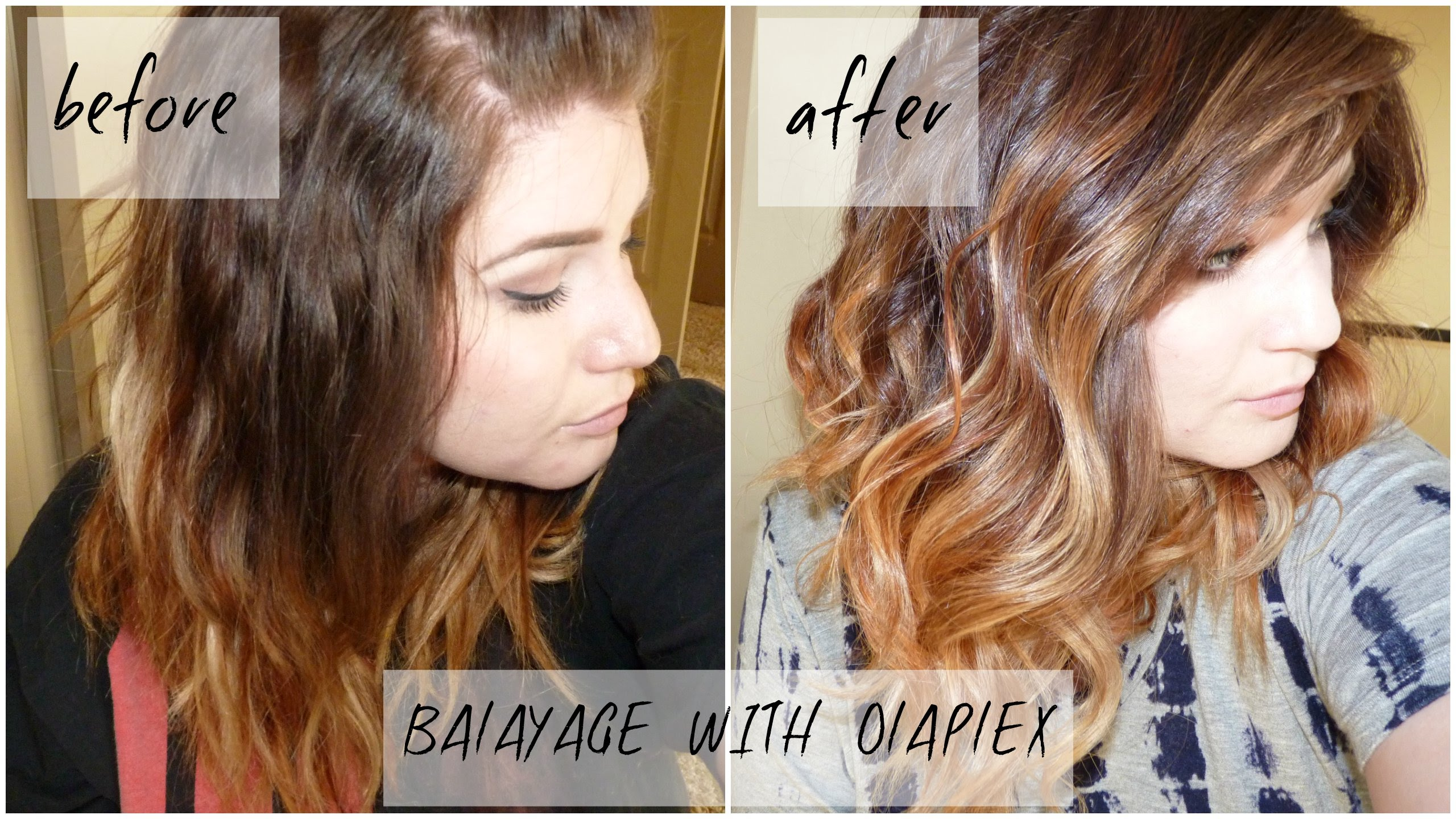 Diy balayage plus face framing