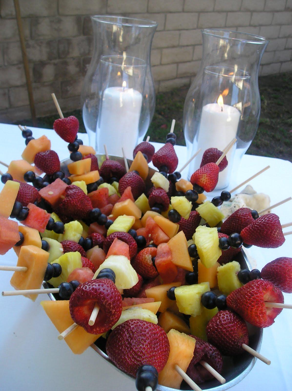 Diy fruit kabobs