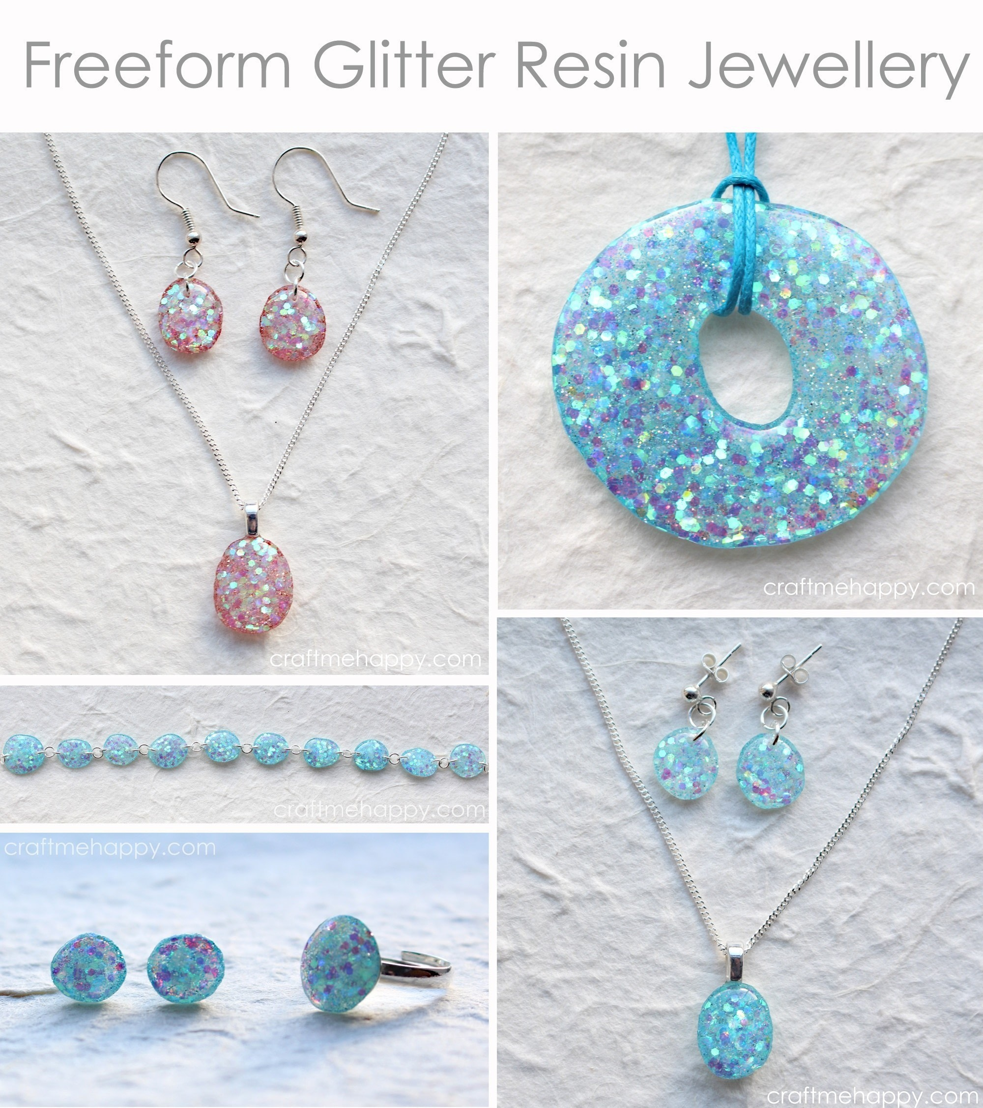 15 resin jewelry diys to try your hand at diy glitter resin jewelry solutioingenieria Gallery