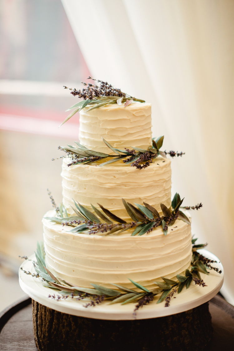 Diy lilac wedding cake topper