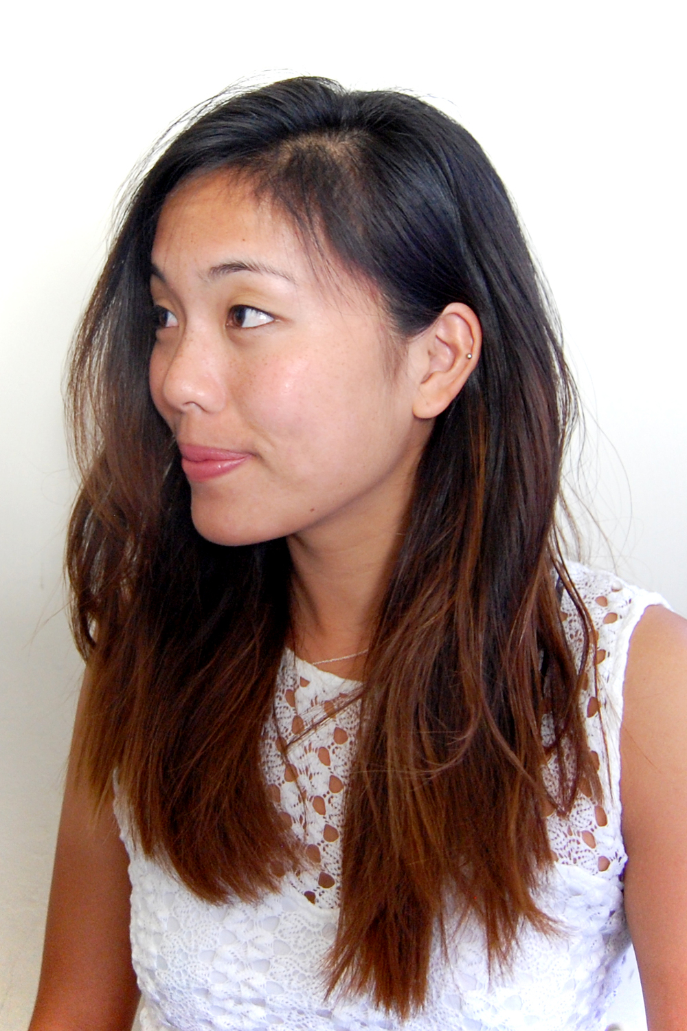 Diy ombre for asian hair