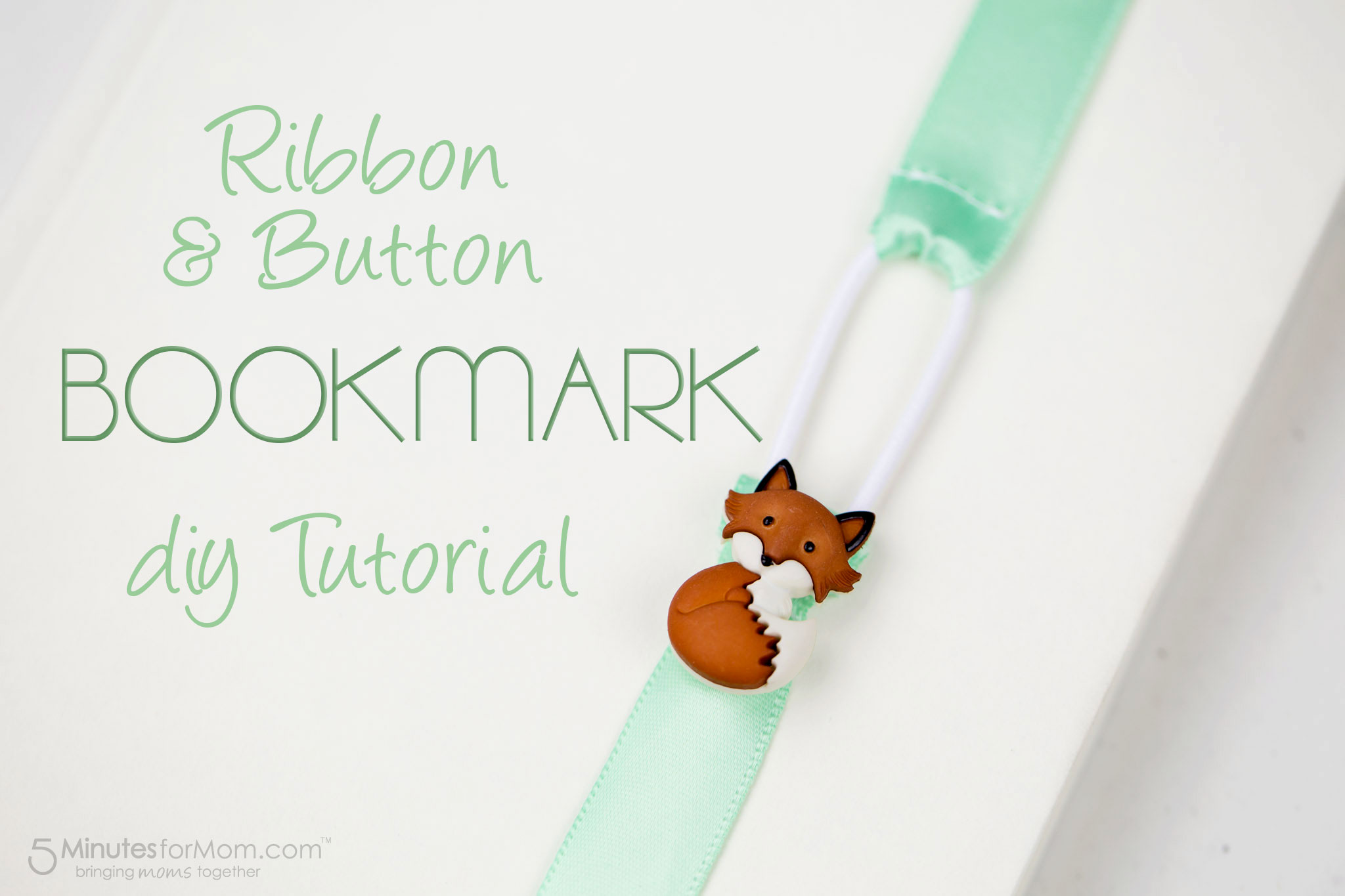 Diy ribbon bookmark