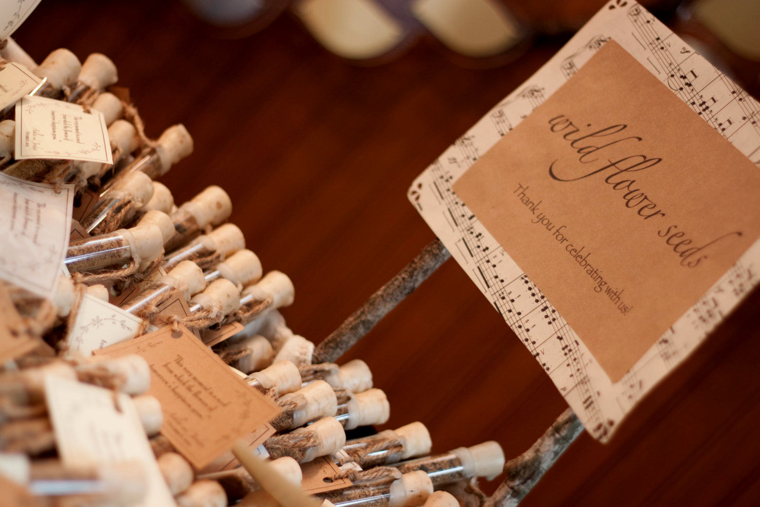 Diy rustic wedding favor ideas