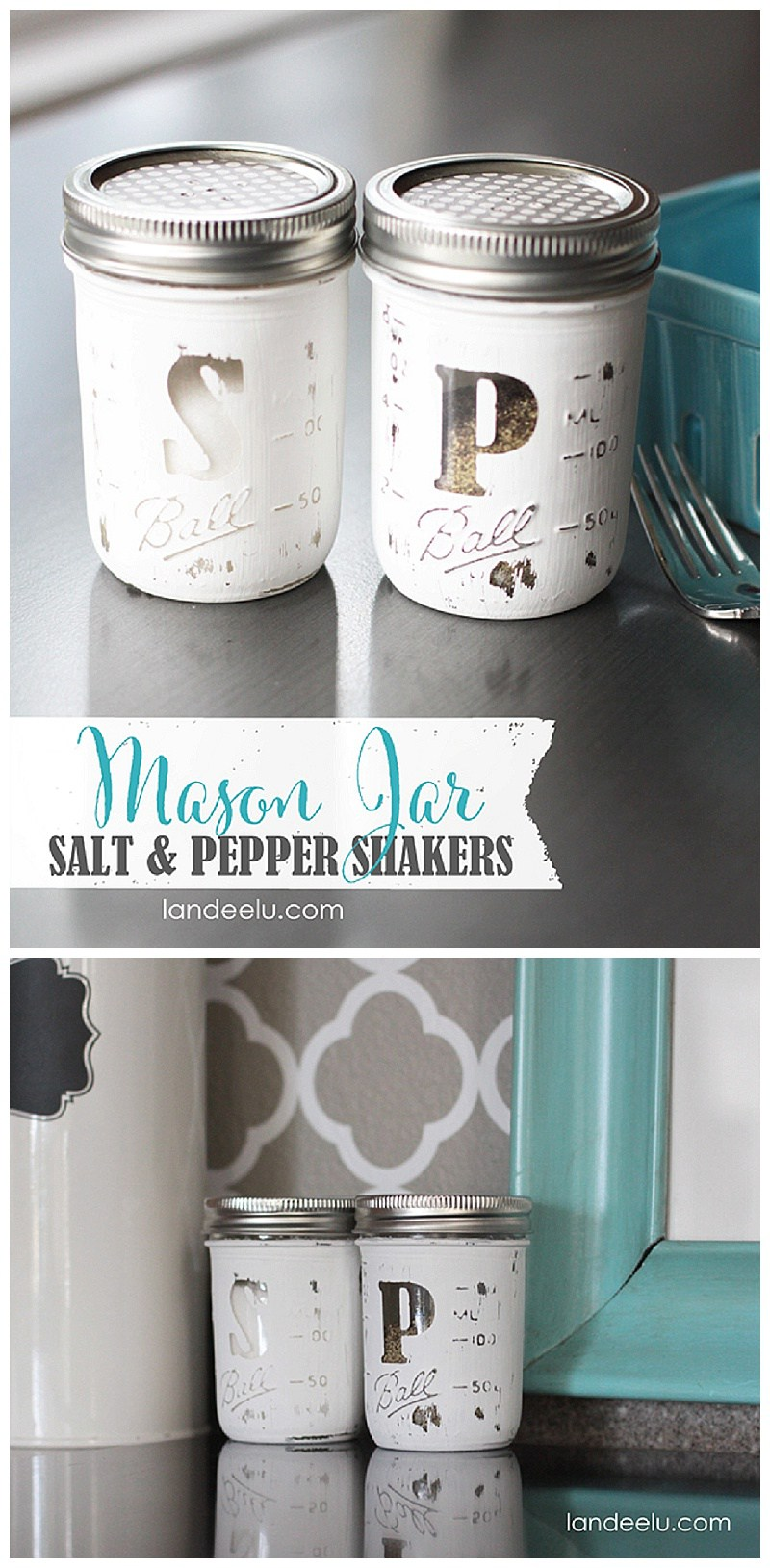 Diy salt and pepper shakers