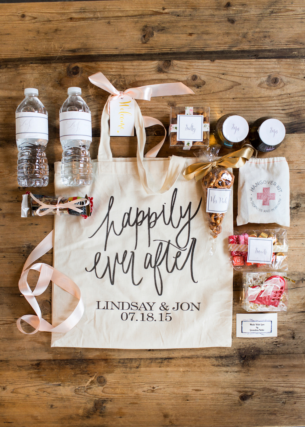 Diy Wedding Welcome Bag