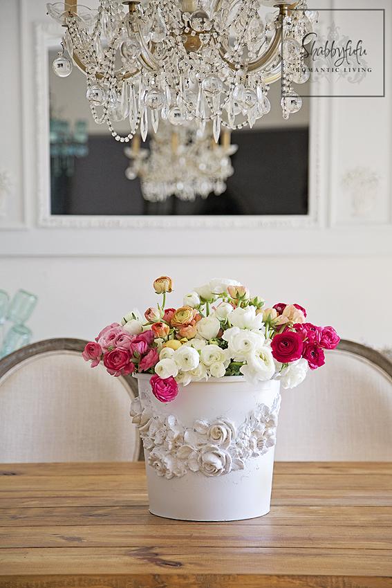 Florist bucket diy