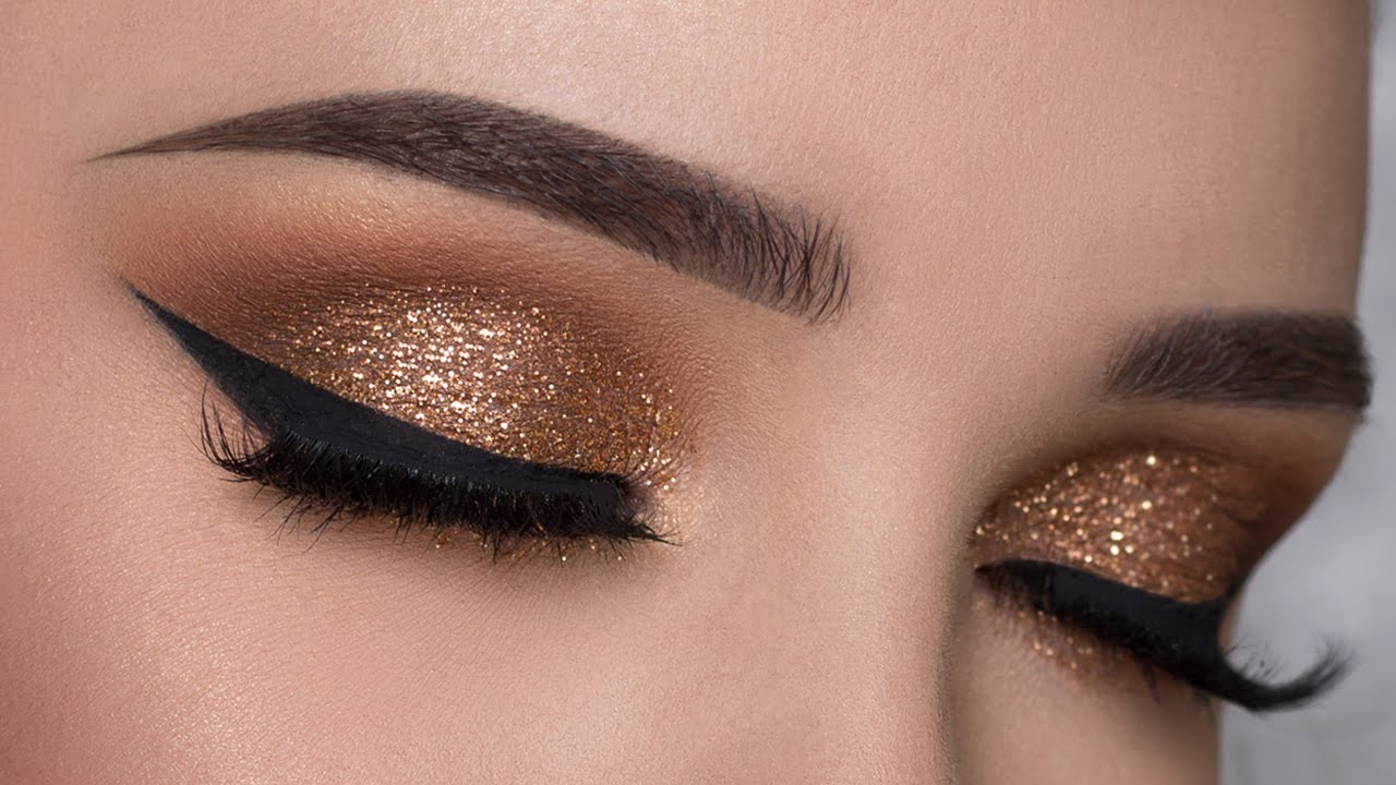 Glitter eyeshadow tutorial