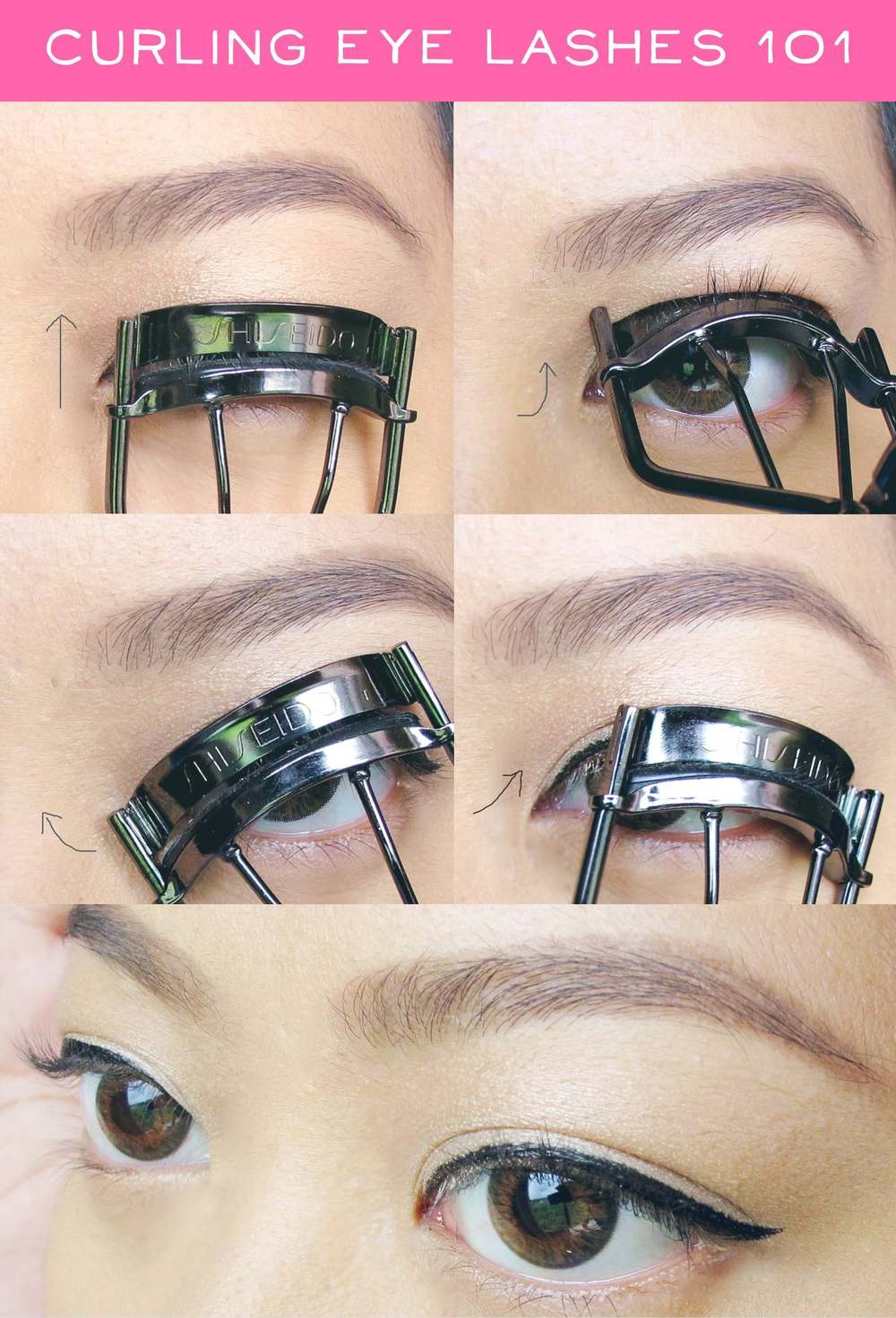 How to curl lashes