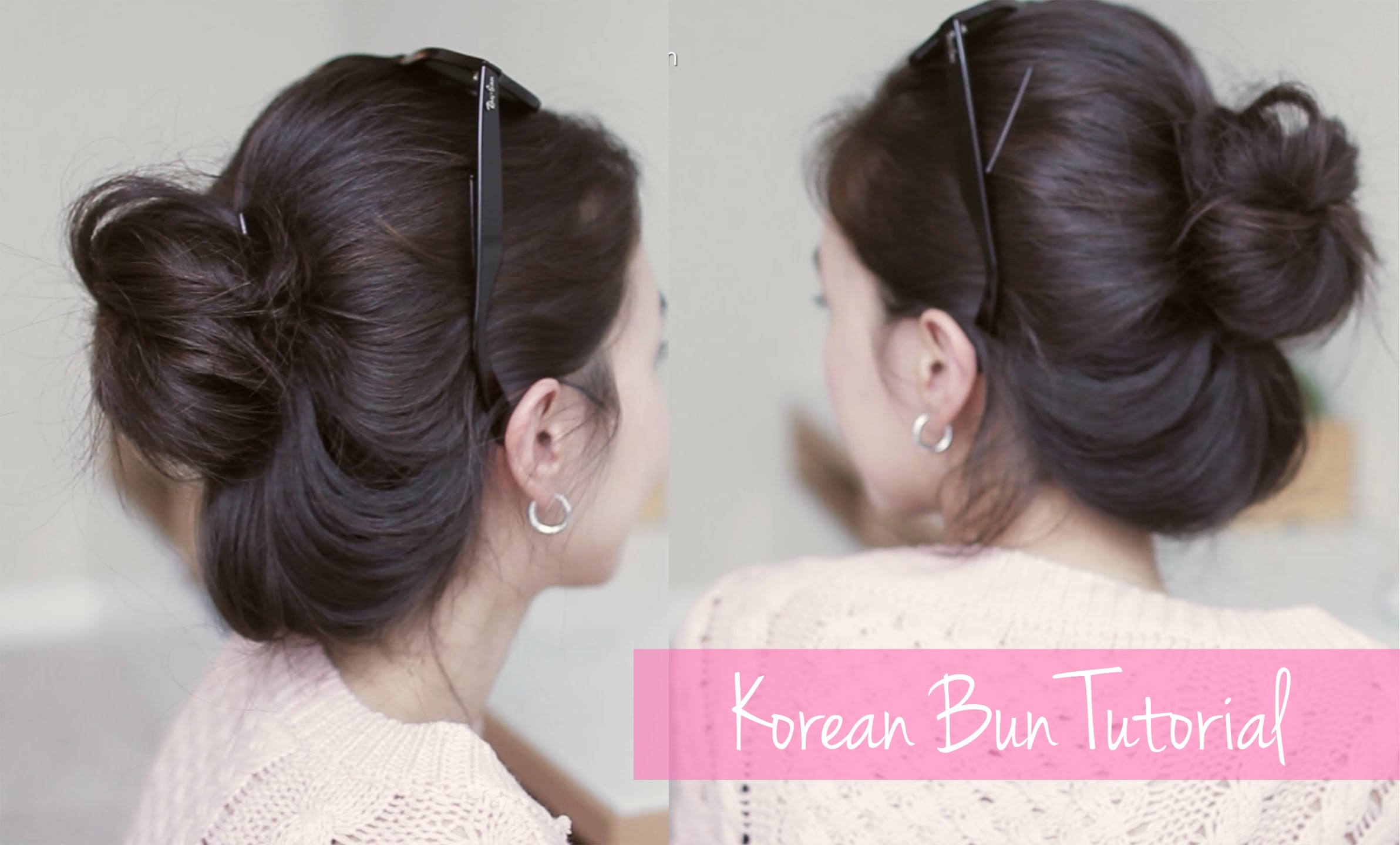 Korean natural bun tutorial