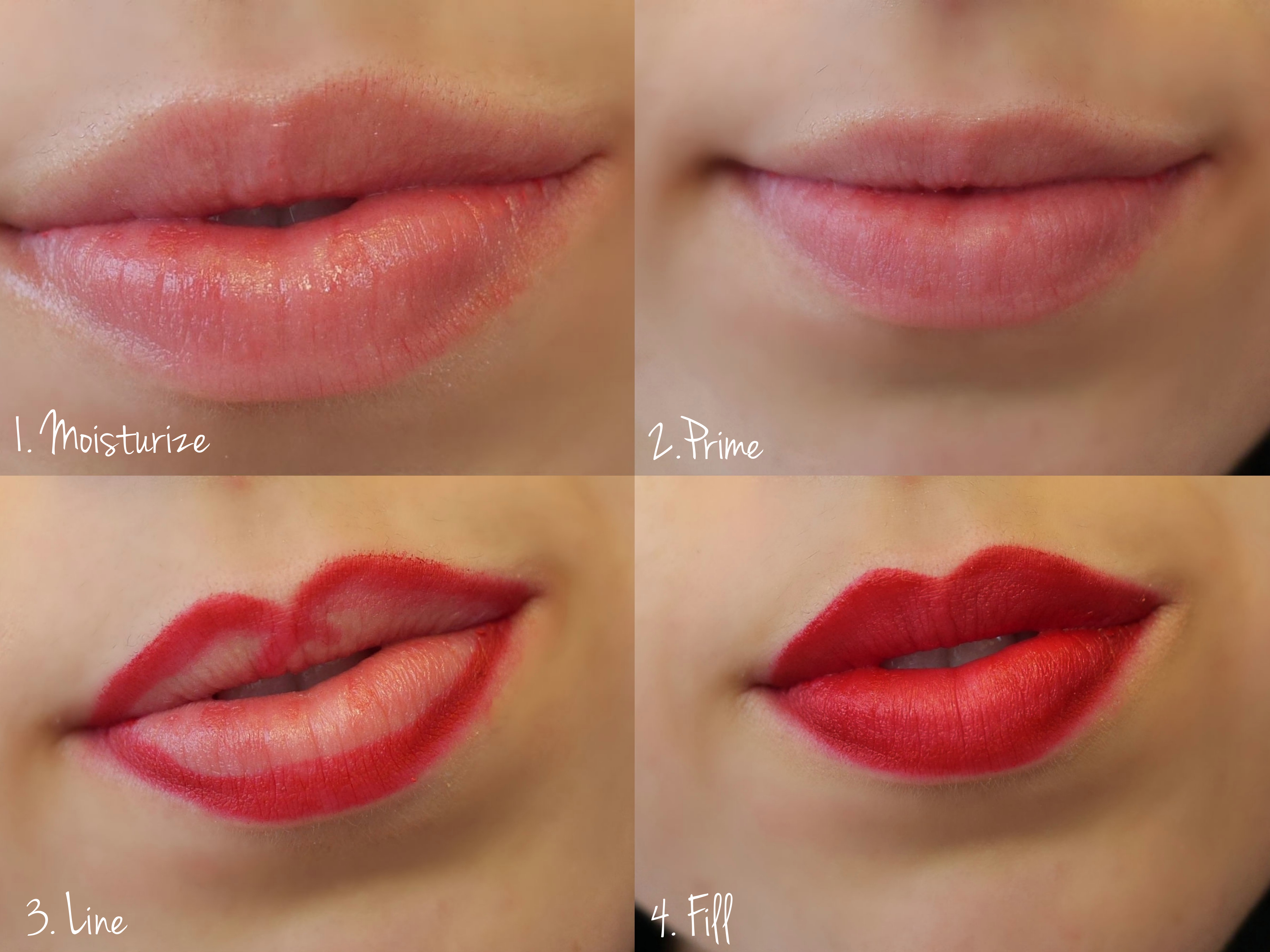 Lip liner tutorial