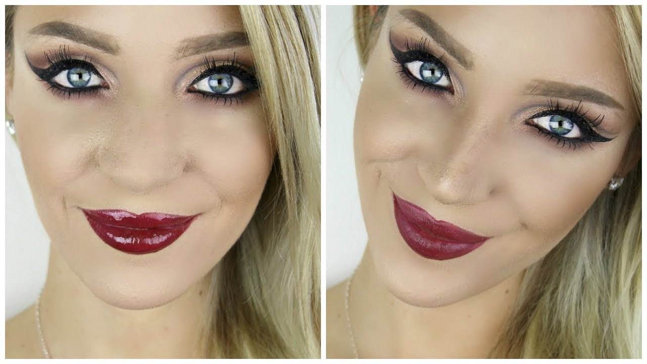 Making your nose look smaller with makeup