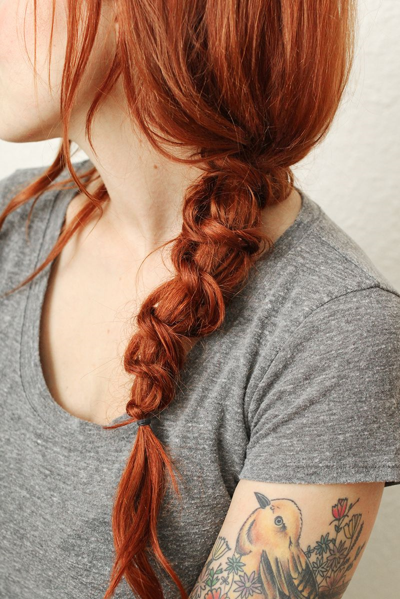 Simple knot braid