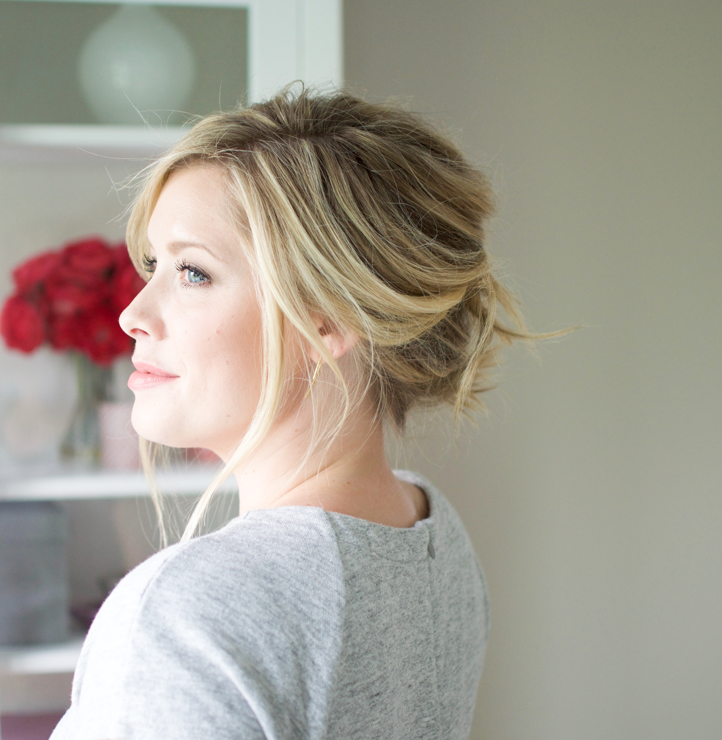 Stacked french twist