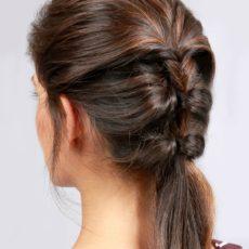 Topsy ponytail tutorial