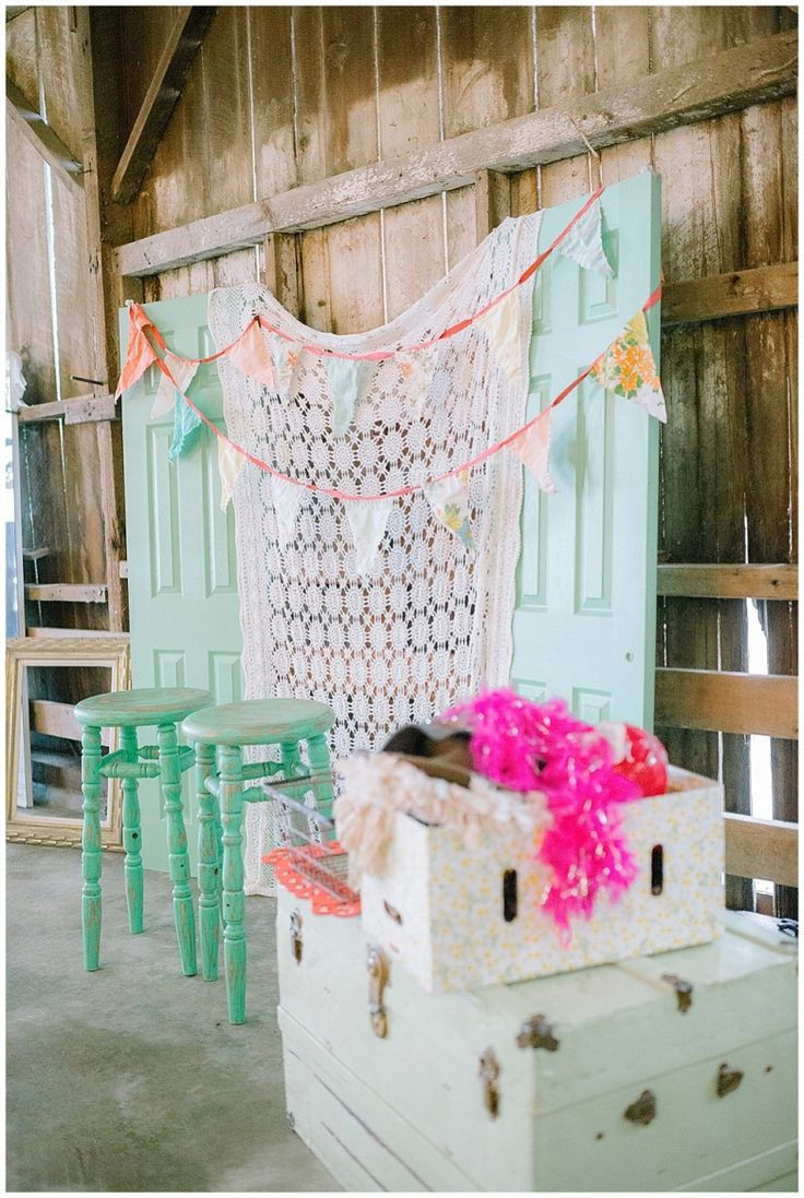 Vintage barn photo backdrop