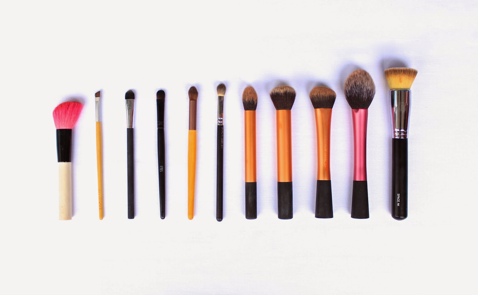 Washing your makeup brushes