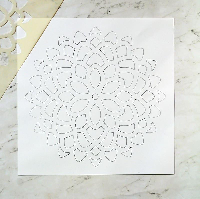 DIY 3-D Flower Artwork