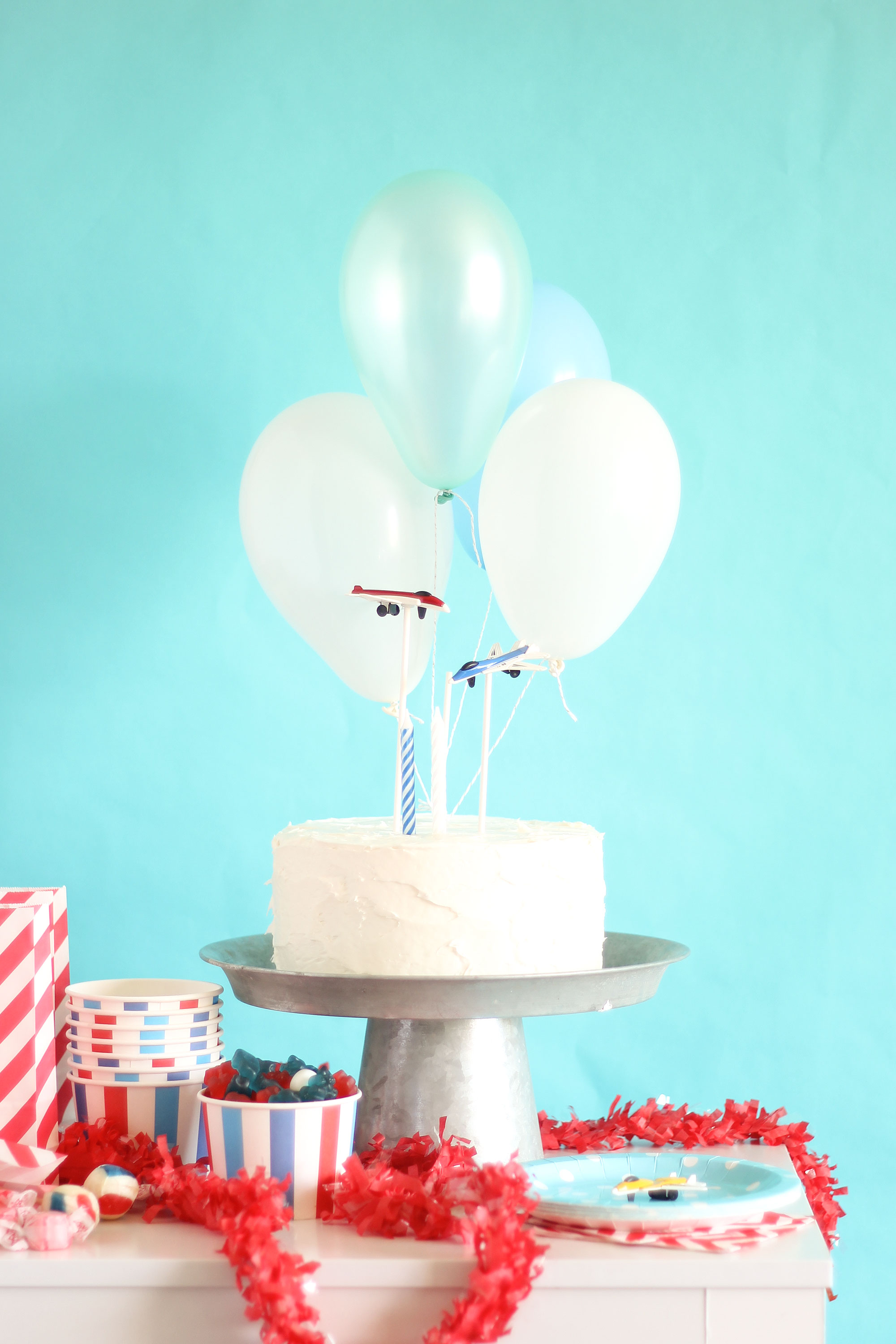 Airplane Party Balloon Topper