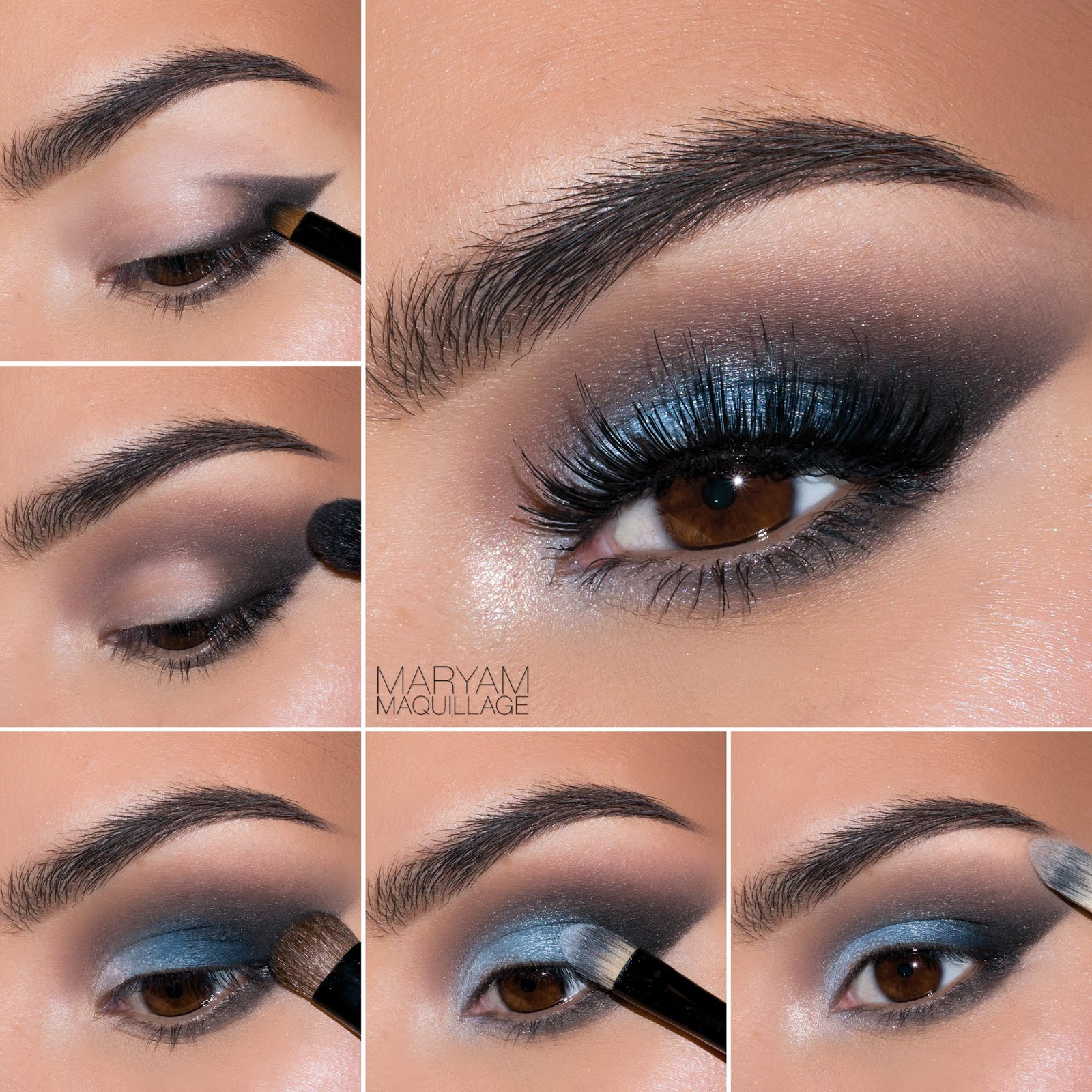 Blue lid with a smokey corner