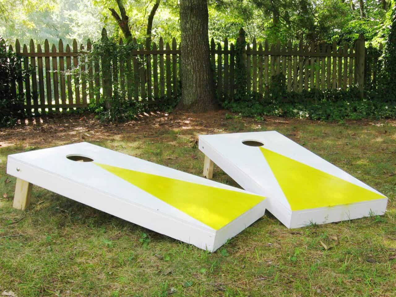 Cornhole diy game