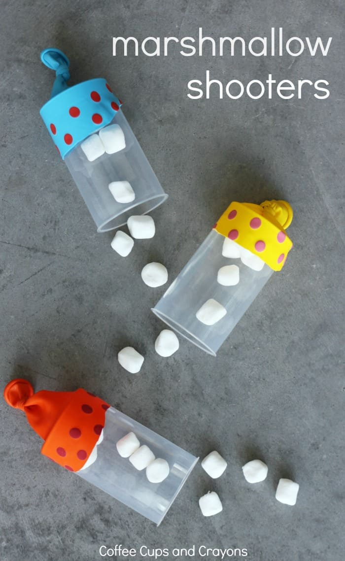Diy marshmallow shooters such a fun craft for kids to make and play with