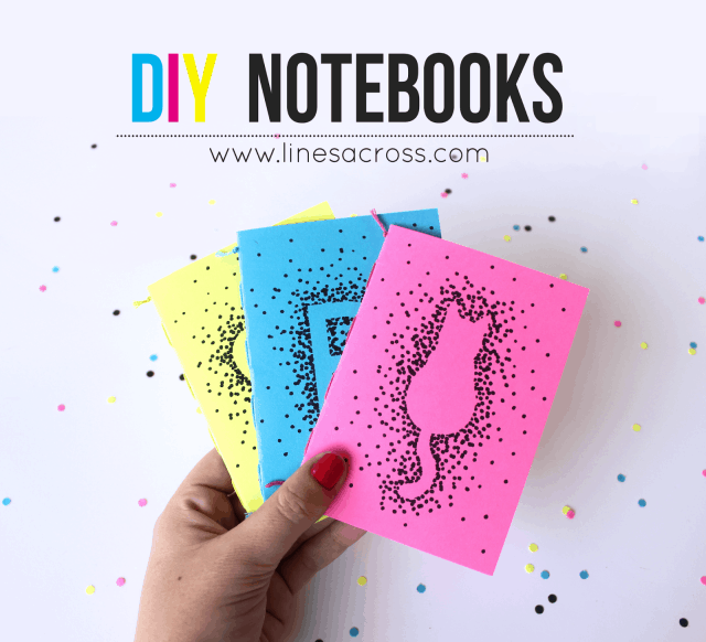 Diy notebooks with sharpies