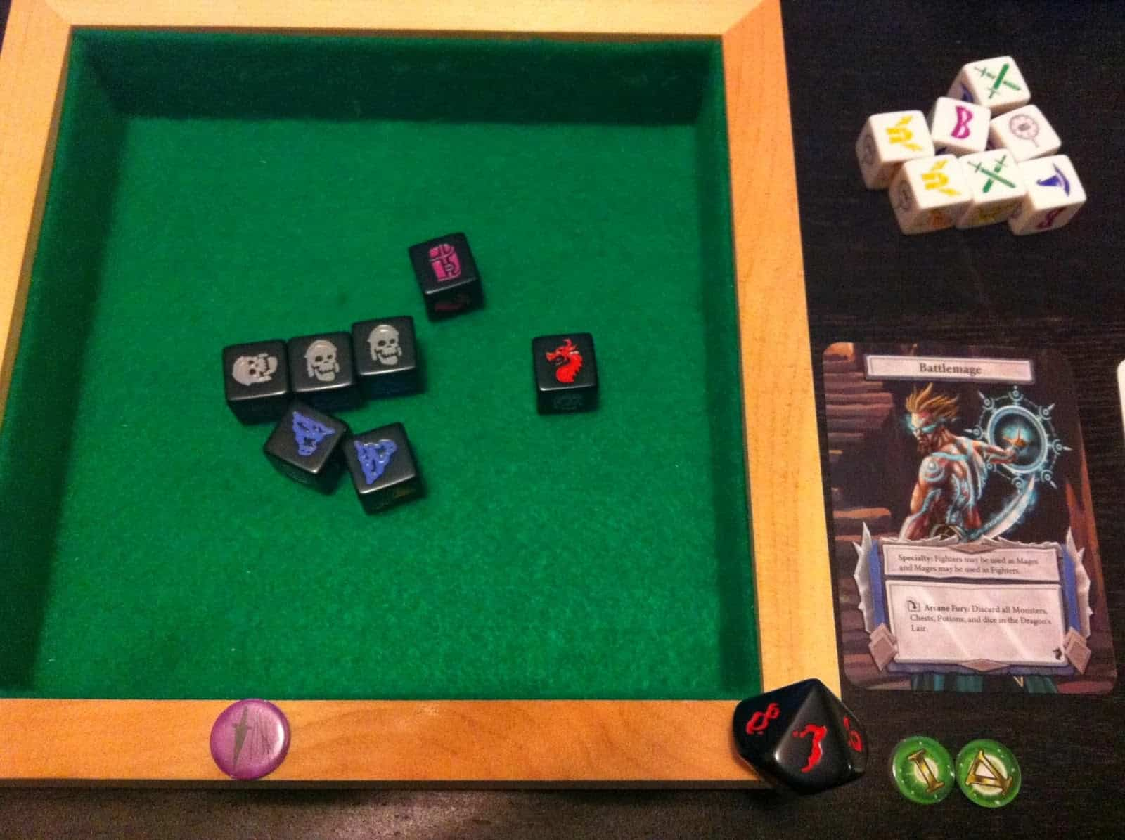 Diy dice tray