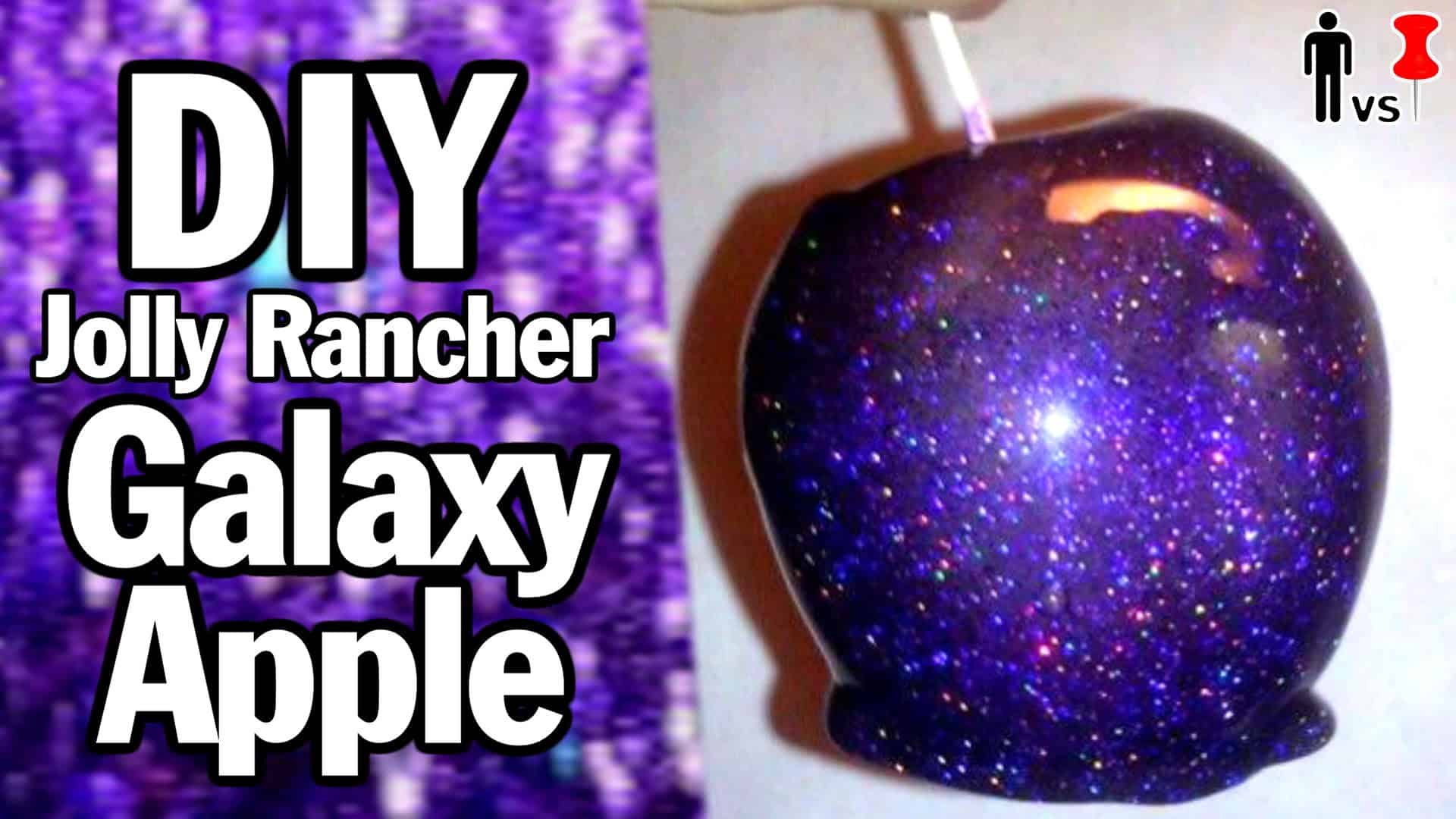 Diy galaxy jolly rancher apple