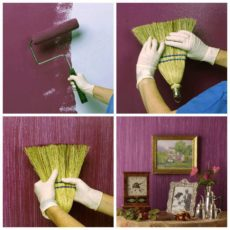 Gr Broom Wall Painting