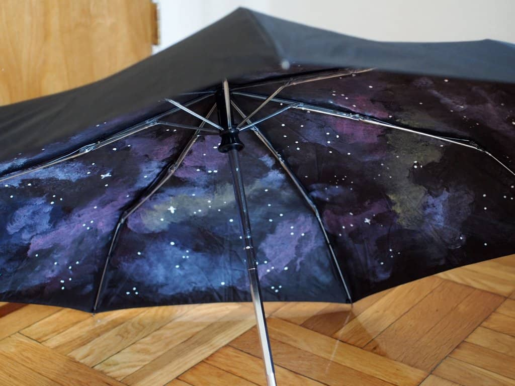 Inner galaxy umbrella