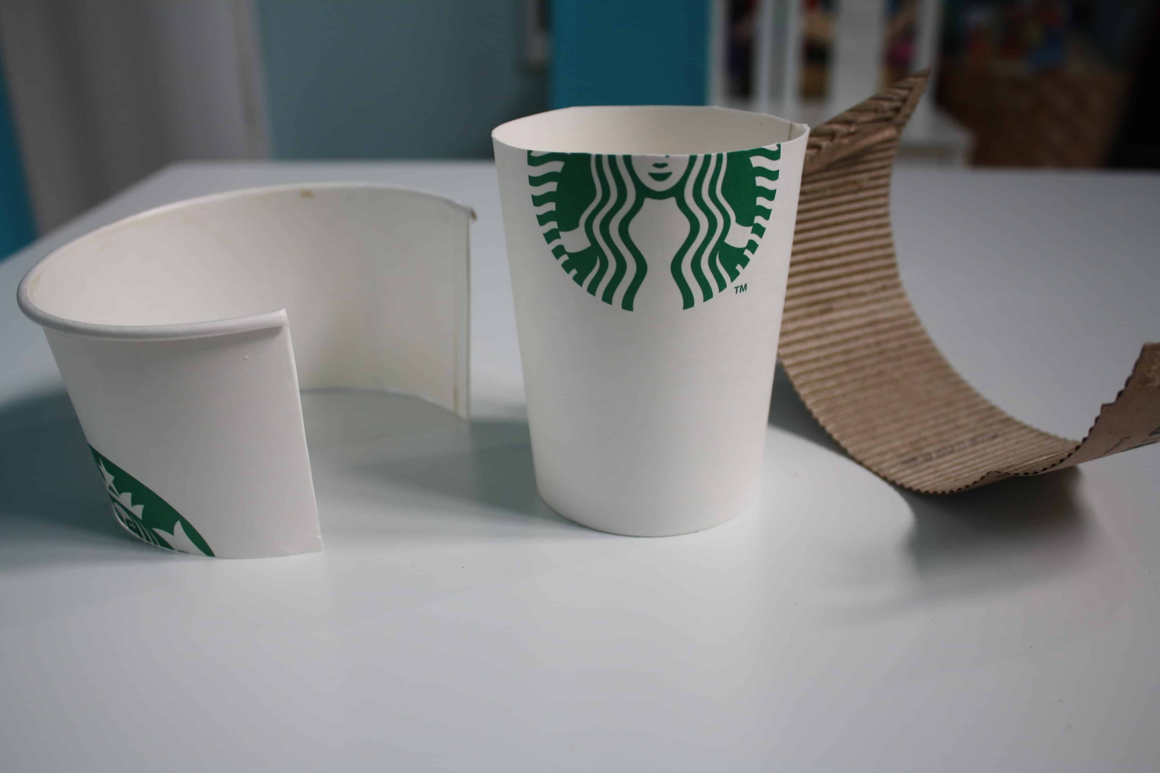 Crafts With Paper Coffee Cups