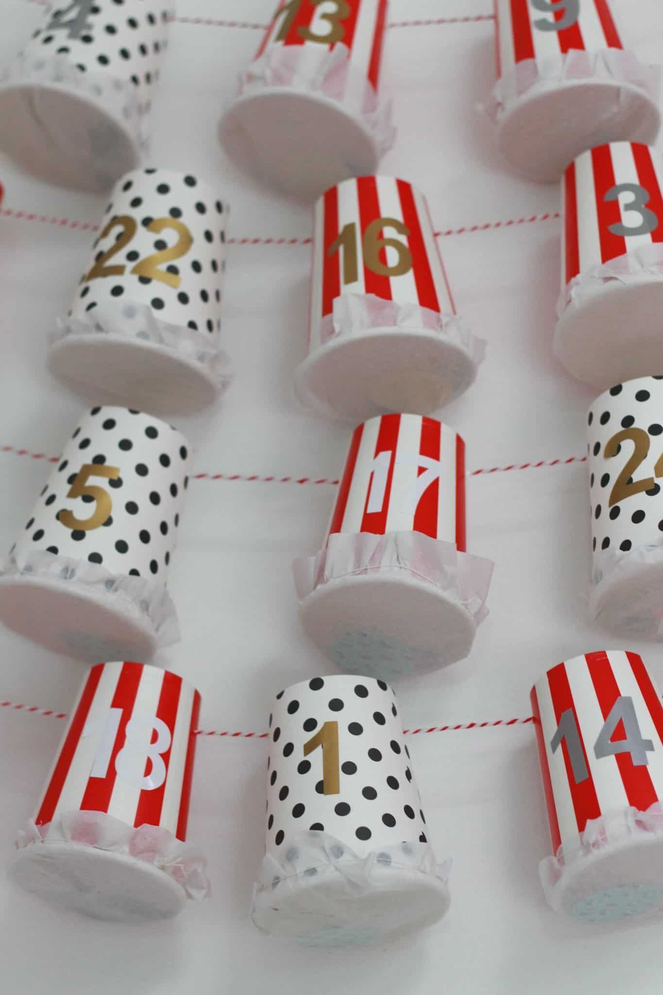 Advent Calendar Ideas Eyfs : Crafts made with paper cups