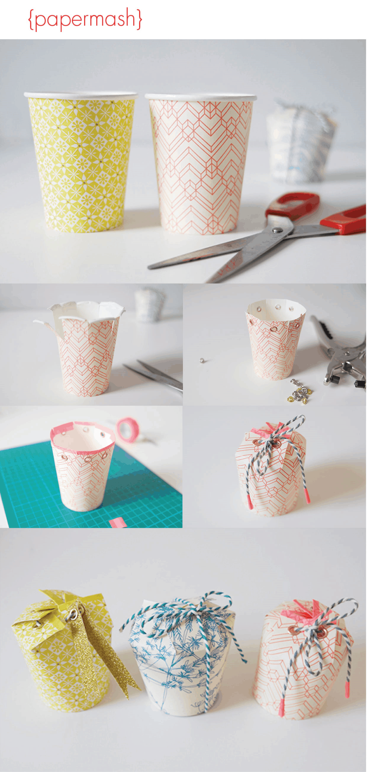 Crafts made with paper cups for Kitchen crafts to make