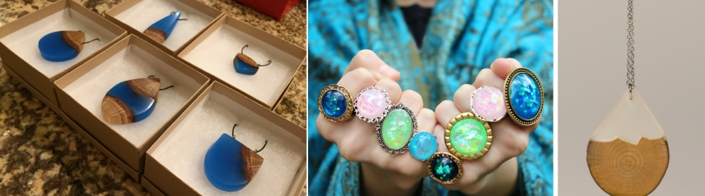 38 Resin Jewelry DIYs To Try Your Hand At