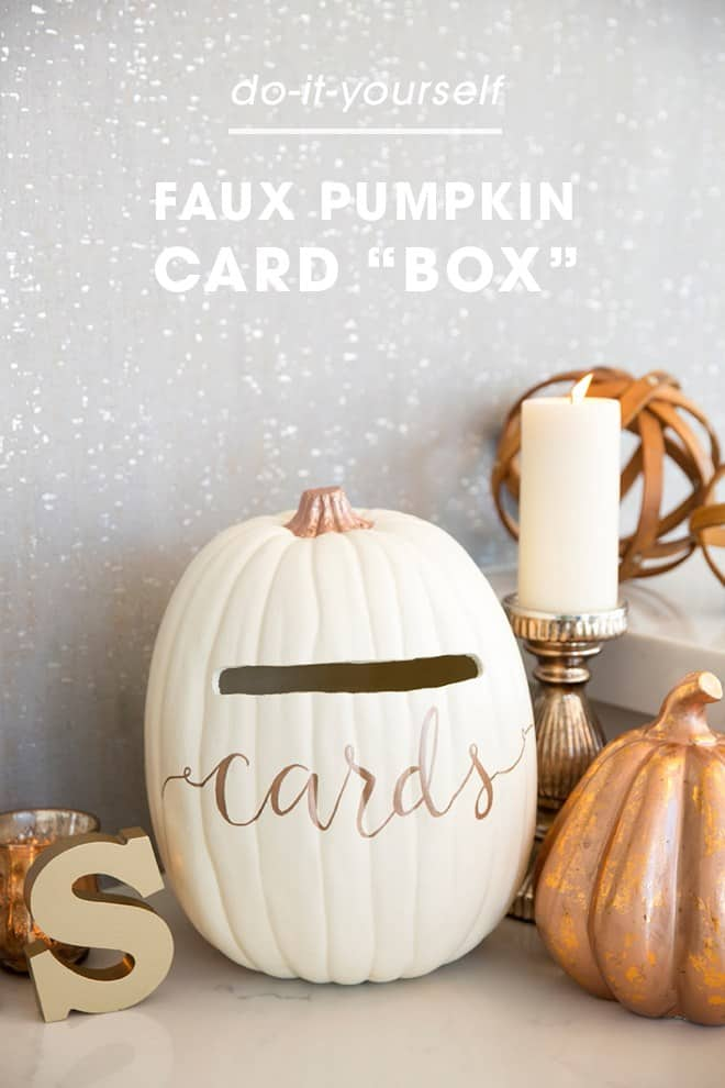 St diy faux pumpkin wedding card box 0001