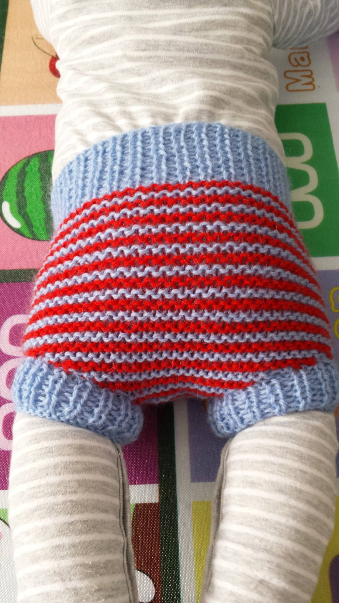 Adorable Knitted Diaper Covers